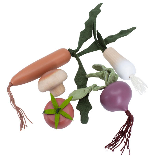 Sebra - Gemüse aus Buchenholz