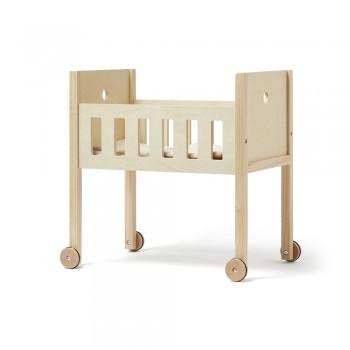 Kids Concept - Puppenbett mit Bettwäsche natur