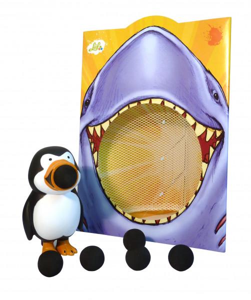 Leif - Plopper Pinguin mit Netz