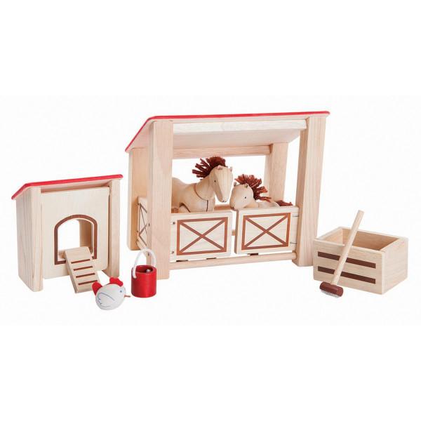 Plan Toys - Pferdestall