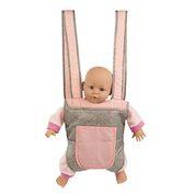 Mini Mommy - Tragesitz für Puppen deluxe grey