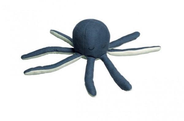 Fabelab - Babyrassel Octopus blau
