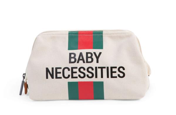 Childhome - Kulturbeutel Baby Necessities grün/rot