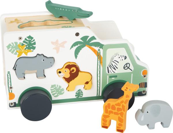 small foot company - Steckspiel Auto Safari