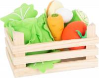 small foot company - Stoff-Gemüse-Set mit Kiste