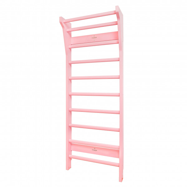 FitWood - Sprossenwand UPPLYFT Mini pink