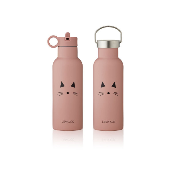 Liewood - Trinkflasche Neo Cat rose