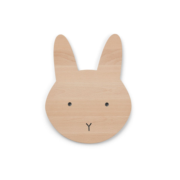 Liewood - Holzlampe Troy rabbit natural