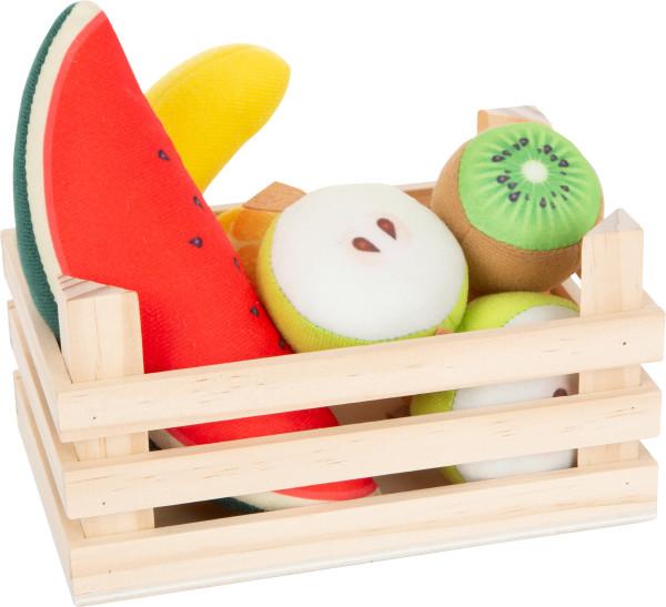 small foot company - Stoff-Früchte-Set mit Kiste