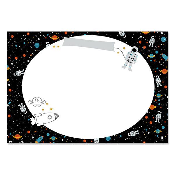 """ava&yves - Schreibunterlage und Tischset """"Space"""""""