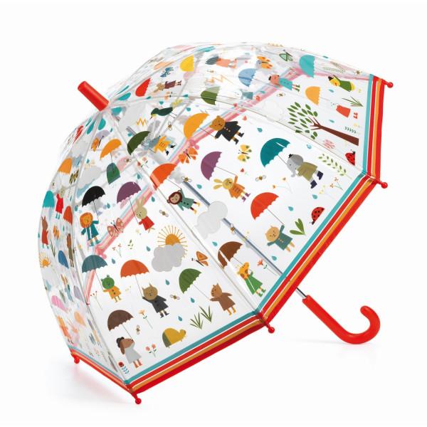 Djeco - Regenschirm Kinder Regenschauer