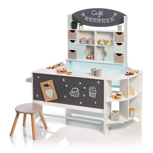 Musterkind - Kaufladen und Café Arabica - weiß/mint/warmgrau