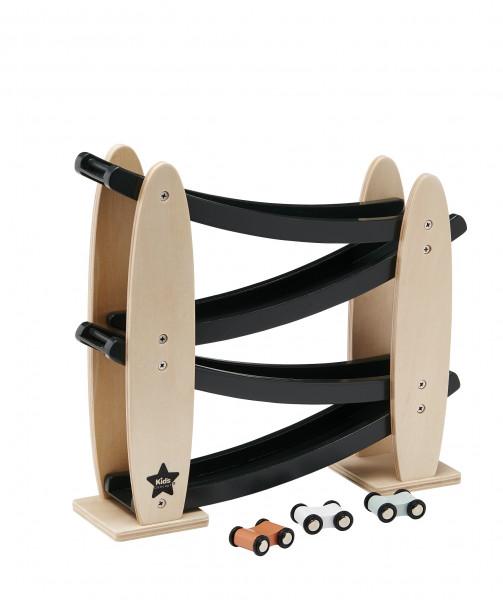 Kids Concept - Rennbahn mit Autos Natur