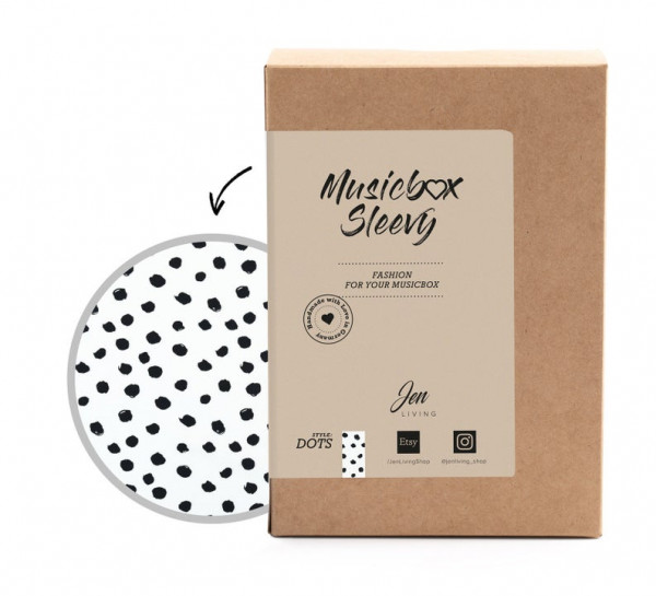 JenLiving - Musikbox Sleevy Dots