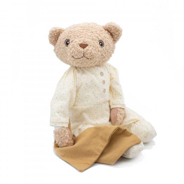 Hugzzeee - Kuscheltier Teddy creme