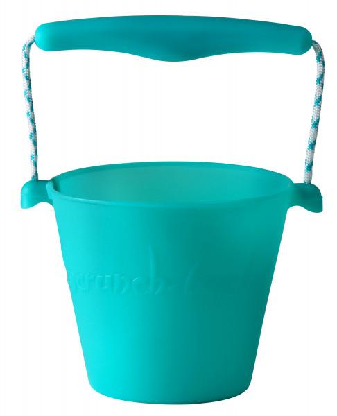 SCRUNCH - Bucket Eimer türkis