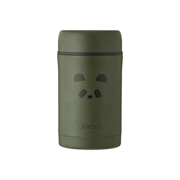 Liewood - Thermobehälter Bernard Panda Hunter Green 500 ml