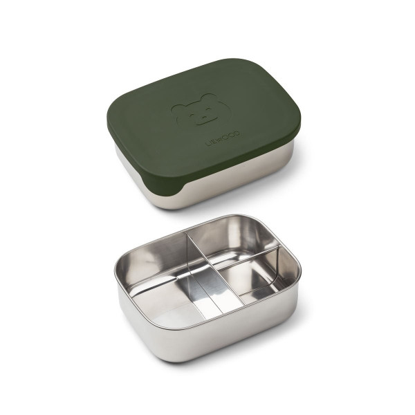 Liewood - Lunchbox Arthur Mr. Bear Green
