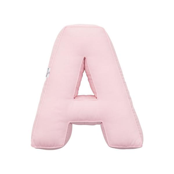 Betty's Home - Baumwollkissen Buchstaben A-Z rose