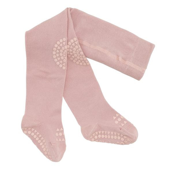 GOBABYGO - rutschfeste Strumpfhose rosa