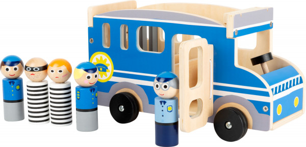 small foot company - Spielauto Polizeibus XL