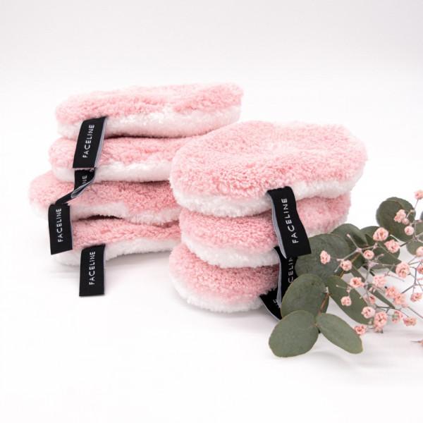 """waschies - Abschminkpads """"Rosé-Edition"""" 7er Set"""