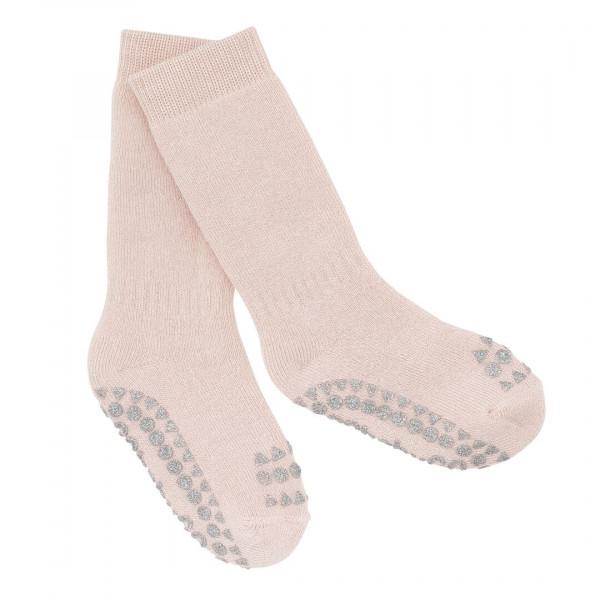GOBABYGO - rutschfeste Socken soft glitter pink