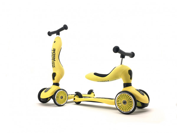 Scoot & Ride - Laufrad/Scooter Highwaykick 1 lemon