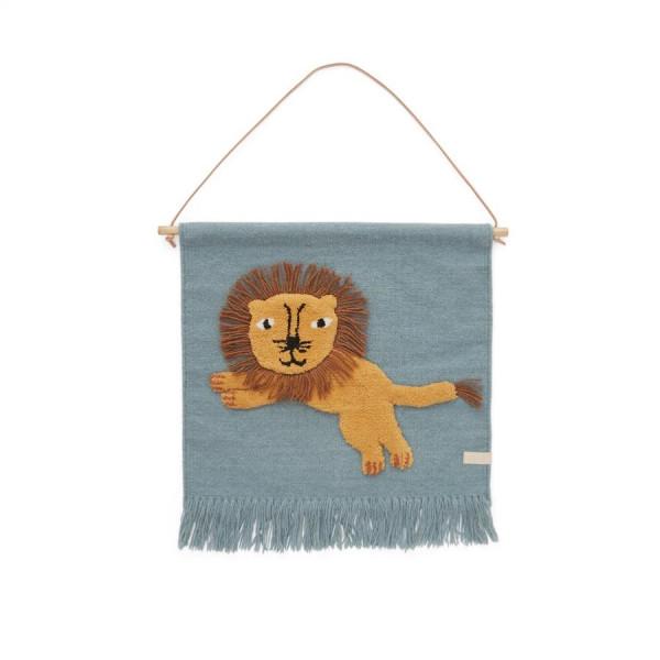 "OYOY - Wandteppich ""Jumping Lion"""