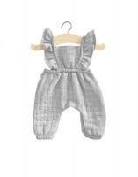 minikane - Puppenkleidung Jumpsuit grau
