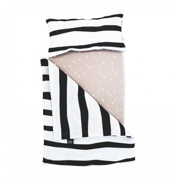 ooh noo - Puppenbettwäsche Zebra