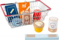small foot company - Lebensmittel Set im Einkaufskorb