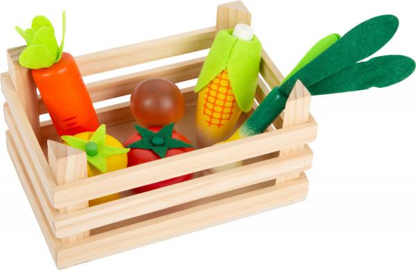 small foot company - Kaufladen-Gemüse mit Kiste