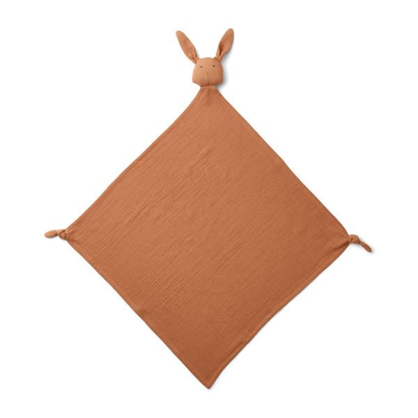 Liewood - Schmusetuch Robbie Rabbit terracotta