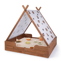 MUDDY BUDDY ® - Sandkasten mit Zelt