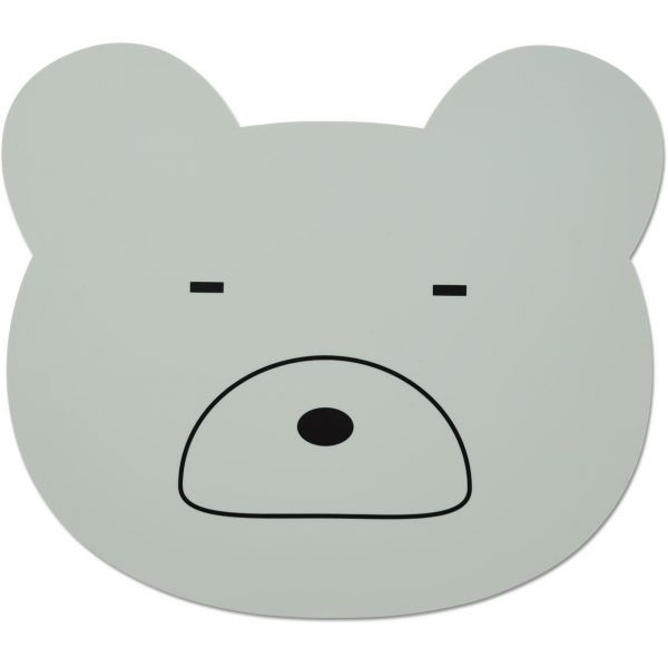 Liewood - Platzset Mr. Bear dusty mint