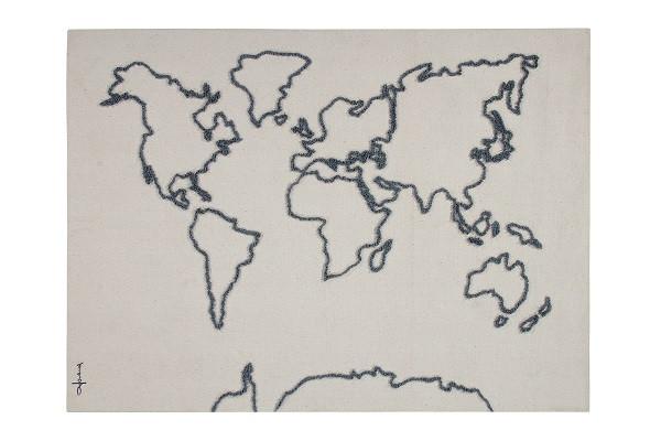 Lorena Canals - Wandteppich Landkarte