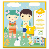 Djeco - Sticker Kleidung