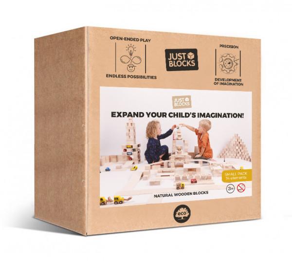 JUST BLOCKS - Holzklötze Box Small