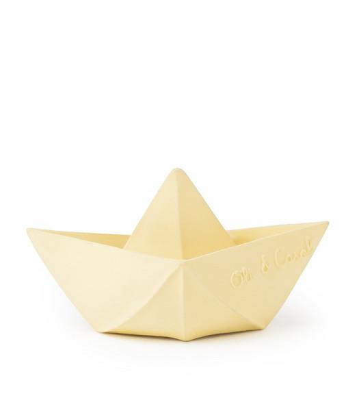 "Oli&Carol - Badespielzeug ""Origami Boat"" vanilla"