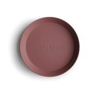 mushie - Teller 2er-Set rund