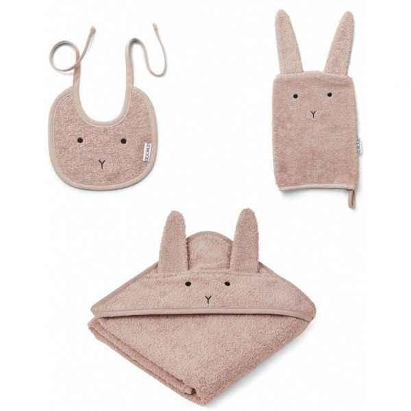 Liewood - Babyset 3-teilig Adele Terry Rabbit rose