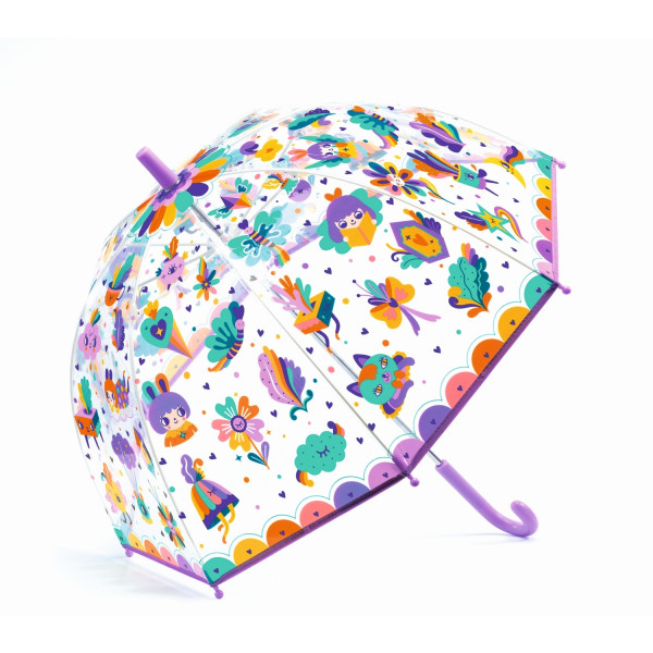 Djeco - Regenschirm Kinder Pop Regenbogen