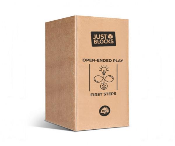 JUST BLOCKS - Holzklötze Box Baby