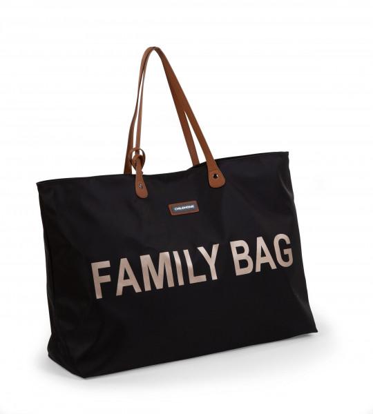 Childhome - Tasche Family Bag schwarz/gold
