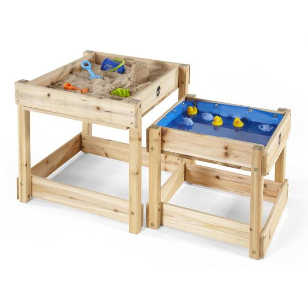 Plum - Sandy Bay Sand- und Wassertisch Holz 2er set