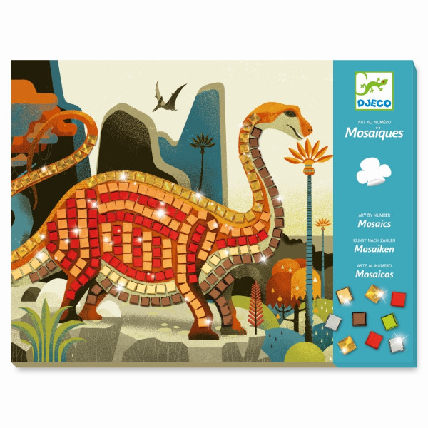 Djeco - Mosaike: Dinosaurier
