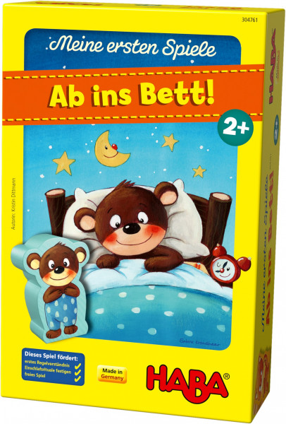 "HABA - Kinderspiel ""Ab ins Bett"""