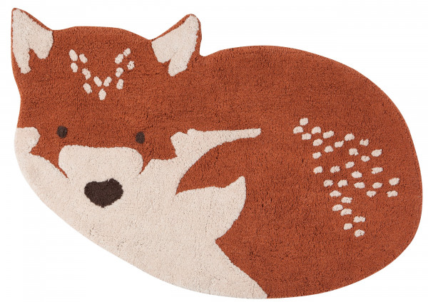 Nattiot - Kinderteppich LITTLE WOLF