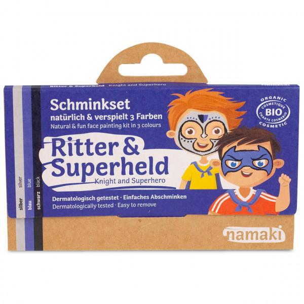 namaki - Bio Kinderschminke Ritter & Superheld 3 Farben